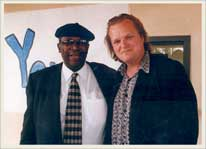 With BB King. Mississippi 1997